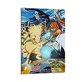 YANDING Póster de Naruto de anime Shippuden Ultimate Ninja Storm...