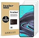 VGUARD 3 Unidades Cristal Vidrio Templado Protector de Pantalla para Samsung Galaxy A52 5G / 4G / A52S 5G / S20 FE / M31S / Xiaomi Redmi Note 10 4G / Redmi Note 10S / OPPO Reno 2 / Realme X50 Pro 5G