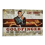 Sean Connery James Bond 007 Goldfinger Filmposter,