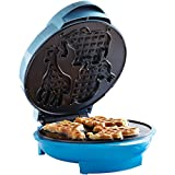 Brentwood Animal Shape Waffle Maker Machine, Non-Stick, Blue