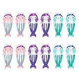 12 stücke Schöne Metall Snap Haarspangen Haarspangen Haarschmuck für Babys Mädchen Kleinkinder Kinder Kinder Jugendliche