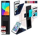 Hülle für Meizu MX4 Pro Tasche Cover Case Bumper | Blau |