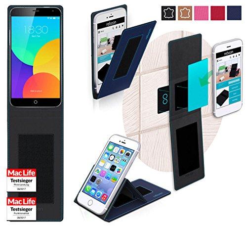 Hülle für Meizu MX4 Pro Tasche Cover Hülle Bumper | Blau | Testsieger