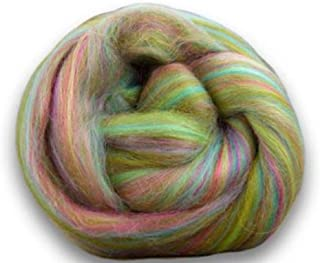 4 oz Paradise Fibers Soft & Silky Bambino Higglety Pigglety - 85% 23 Micron Solid Color Merino Wool and 15% Dyed Bamboo Blend