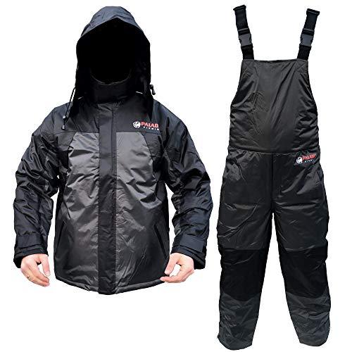 Paladin Polar Thermoanzug - Winter Thermo Anzug 2-Teilig/Outdoor Angelanzug - Jacke + Hose - Gr. M bis XXL (XL)