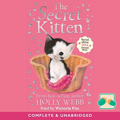 The Secret Kitten audiobook cover art
