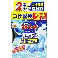 小林製薬 ブルーレットスタンピー トイレ洗浄剤 除菌効果プラスフレッシュコットン つけ替用