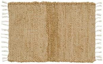 VHC Brands Burlap Natural Chindi/Rag Rug, 1'8