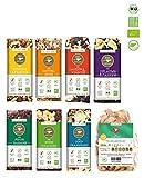 eat Performance Vegan Box (7 Riegel, 1 Apfelchips) - Bio, Paleo, Glutenfrei Aus 100% Natürlichen Zutaten