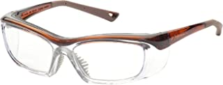 OnGuard Safety OG-220S Eyewear w/ Dust Dam Brown 58-15-135
