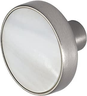 Wisdom Stone 4226SN Pearl 1-3/8 in. Satin Nickel Cabinet Knob