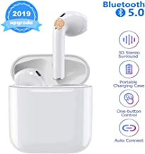 Bluetooth Headphones Auto Pairing Earphones TWS Earbuds Cordless Headphones Mini Sport Headsets with Charging Case for iOS iPhone XMAS/XR/X/8S/7S/6 Plus and Android Galaxy Sumsung S7/S8/S9