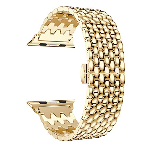 Leefrei Stainless Steel Apple Watch Band