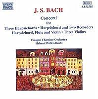 Concerti for Harpsichord Flute & Violin