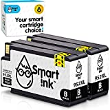 Smart Ink Compatible Ink Cartridge Replacement for HP 952 XL 952XL (Black Combo Pack) to use with OfficeJet Pro 7720 7740 8200 8210 8216 8700 8710 8715 8720 8725 8730 8740 Advanced Chip Technology