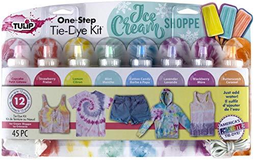 Tulip One-Step Tie-Dye Kit Ice Cream Shoppe Tie Dye, Pastel
