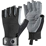 Black Diamond Equipment - Crag Half-Finger Gloves - Black - Large