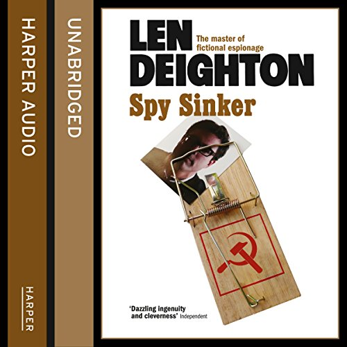 Spy Sinker audiobook cover art