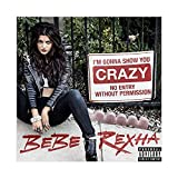 American Hip-hop Artist Bebe Rexha Baby, I'm Gonna Show You Crazy Album Cover Canvas Poster Wall Art Decor Print Picture Paintings for Living Room Bedroom Decoration Unframe:12×12inch(30×30cm)