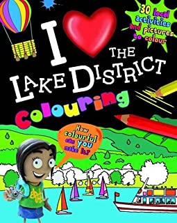 I Love the Lake District Colouring