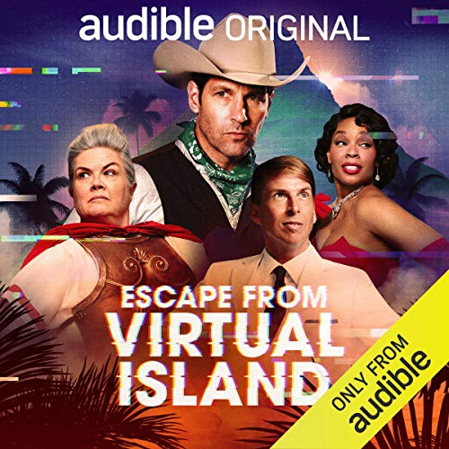 Escape from Virtual Island audiobook cover art