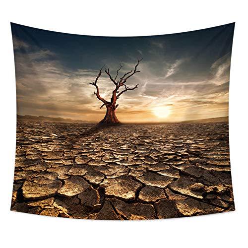 haoyunlai Hermoso Hogar Art Deco Wall Tree Tree Bohemian Decoración Hippie Psychedelic Escena Viaje Colchón Sofá Cubierta Cubierta Manta Yoga Mat-A13-3_100 * 70