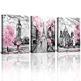 Black and White Canvas Wall Art for Living Room Bedroom...