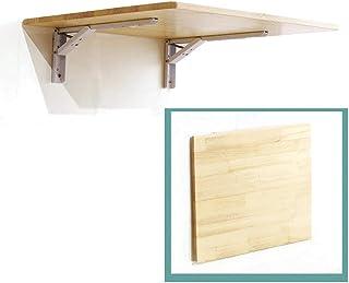 DFVV Table Pliante Murale, Table de Cuisine, Tables Bar Murales Bois Pin - Plusieurs Tailles