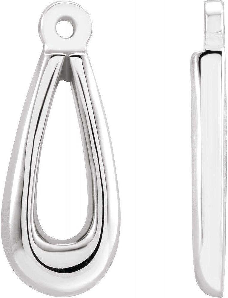Earring Jackets (Width = 6mm)
