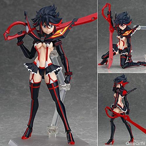 Yvonnezhang Figma 220 Anime Kill la Kill Matoi Ryuuko PVC Action Figure Toy Collection Modello Brinquedos