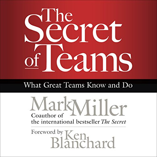 The Secret of Teams     What Great Teams Know and Do              Written by:                                                                                                                                 Mark Miller                               Narrated by:                                                                                                                                 Bob Dunsworth                      Length: 3 hrs and 18 mins     Not rated yet     Overall 0.0