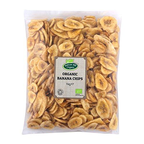 Chips de plátano orgánico 1kg de Hatton Hill Organic - Certificado orgánico