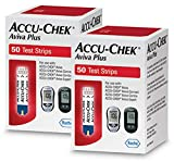 Accu-Chek Aviva Plus Blood Glucose Test Strips, 100 Count (Pack of 3)