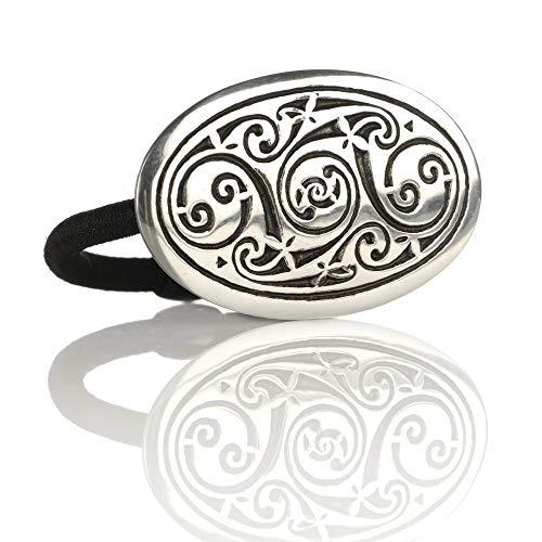 Celtic Spirals - Haargummi aus England - keltische Muster & Spiralen