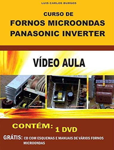 Curso em DVD aula Microondas Panasonic Inverter