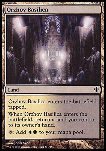 Magic The Gathering - Orzhov Basilica (323/356) - Commander 2013