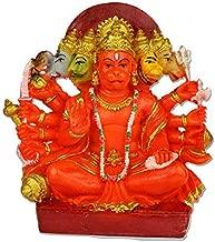 ASTRO HUB - Panchmukhi Hanuman/Hanuman ji murti/Marble Idols Hanuman/Home Decor Hanuman/Hanuman ji Statue/Hanuman Statue Stone
