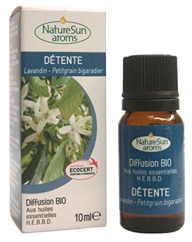 Naturesun aroms - Mélange Diffusion Sommeil Bio - Flacon 10 ml