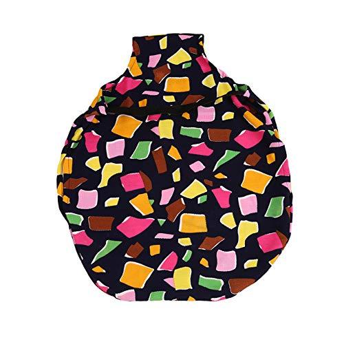 LPOQW - Custodia protettiva per valigie, con stampa poligonale a blocchi di colore, per valigie, accessori da viaggio, a forma di poligono