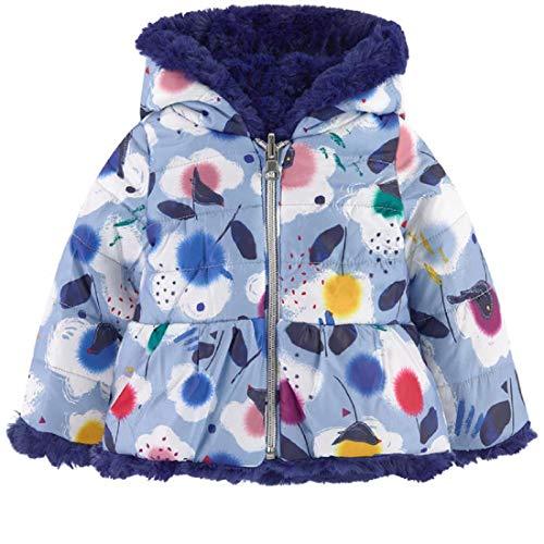 Catimini Baby-Mädchen Blouson Réversible Pour Jacke, Pink (Lilac 80), 18-24 Monate (Herstellergröße: 2A)