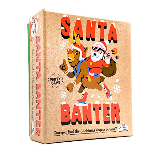 Big Potato Santa Banter: Hilarious Christmas Game | Best Christmas Board Games for Families