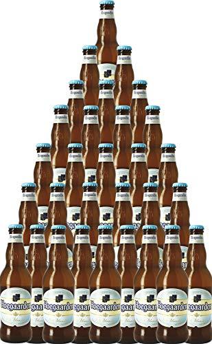 30er-Paket Bier | Bierpaket | Internationales Bier | Großpaket zum Sparpreis (30er-Paket Hoegaarden Wit Belgisches Witbier)