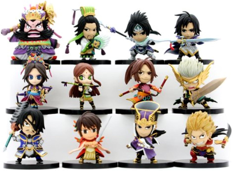 Dynasty Warriors 6 Eiketsu Mini Figure Vol.2 12 pieces (PVC Figure) B002AMVCT4 Genialität | Bestellung willkommen