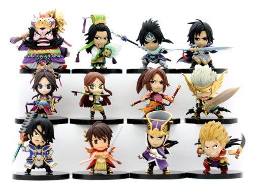 Dynasty Warriors 6 Eiketsu Mini Figure Vol.2 12 pieces (PVC Figure)