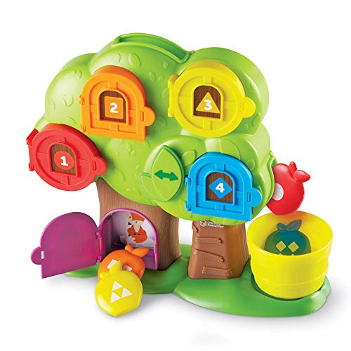 Learning Resources Hide & Seek Learning Treehouse, Letter Games, Toddler Learning Treehouse, Ages 18 mos+