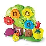 Learning Resources Hide & Seek Learning Treehouse Escondite en la casita del árbol didáctica, color (LER7741) , color/modelo surtido