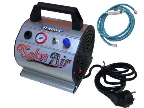 Mini Hobby Airbrush Kompressor mit dem Druckbehälter Fengda® AS-176