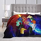 Wings of Fire Blanket Fleece Microfiber for Couch Sofa Or Bed Super Cozy and Comfy for All Seasons 50'X40'