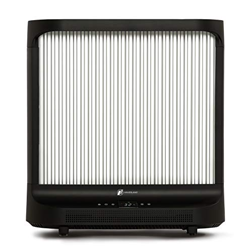 HAVERLAND IDK-2 | Emisor Portátil de Fibra de Carbono | 2000 W | Bajo Consumo | Incluye Mando a Distancia | Termostato Regulable | Panel Touch Control | Negro