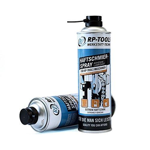 Spray Hochleistungs Haftschmierspray - 500ml - RP-TOOLS - speziell für Hebebühnen Montagemaschinen...